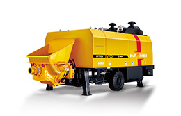 High quality HBT90 Trailer Concrete Pump